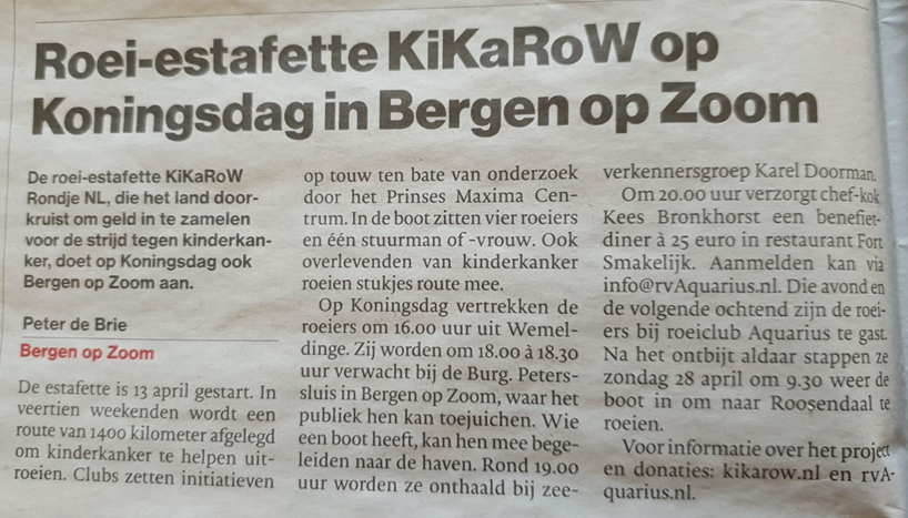 Kikarow in BoZ, BN de Stem, 19 april 2019