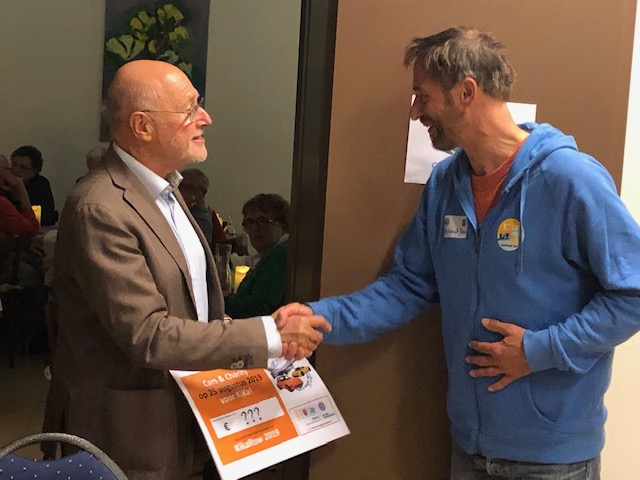 Een tegoedbon van Rotary BoZ-noord, komt allen naar Cars & Charity op 25 aug. 2019